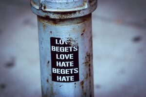 amy jean blog post discusses the power of love and the power of hate