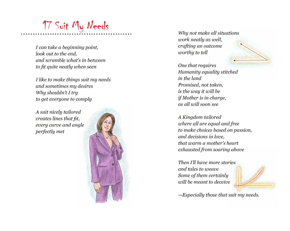 Amy Jean Suits My Needs Poem